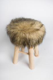 Povlak na stoličku - kožešina