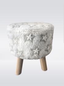 Povlak na stoličku - hvězdy
