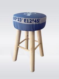 Povlak na stoličku - šedý